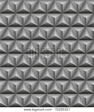 Tripartite Pyramid Gray Seamless Texture