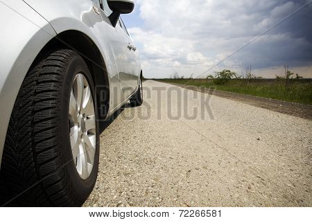 Car On Road
