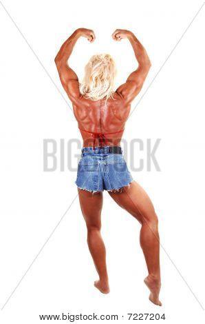 Bodybuilding Woman.