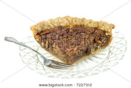 Large Slice Of Pecan Pie