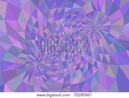 Multicolored Purple Tinted Geometric Background