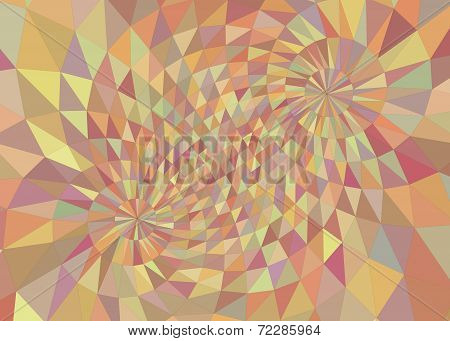 Geometric mesh 3D background