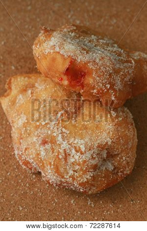 Jam Doughnuts - Close Up