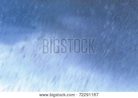 Falling Rain Illustration