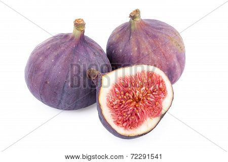 Figs Fruit isolated on white