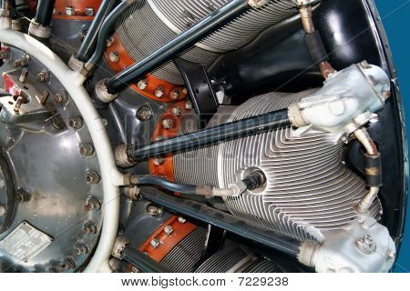 Engine of an airplane