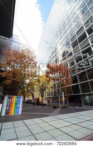 Tokyo, Japan - November 26, 2013: Exterior Of Tokyo International Forum
