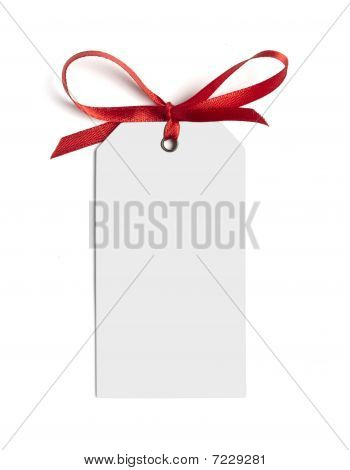 Red Ribbon Card Note