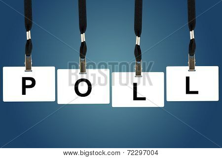 Political Poll Word