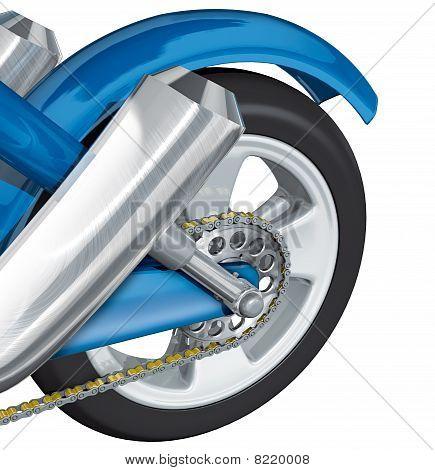 Hinterrad Motorrad