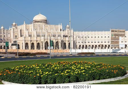 Government Building In Sharjah