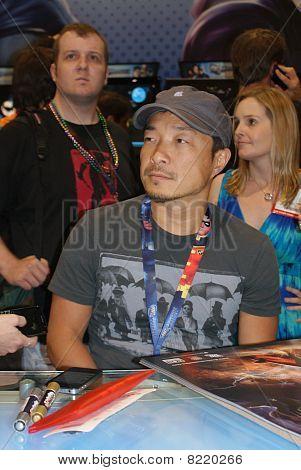 Jim Lee at Comic-Con