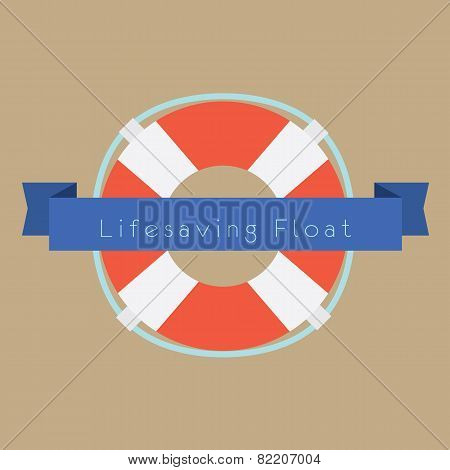 Life Saving Float Ring.