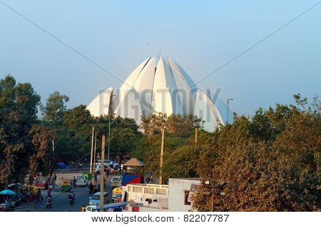 Lotus Temple In New Delhi