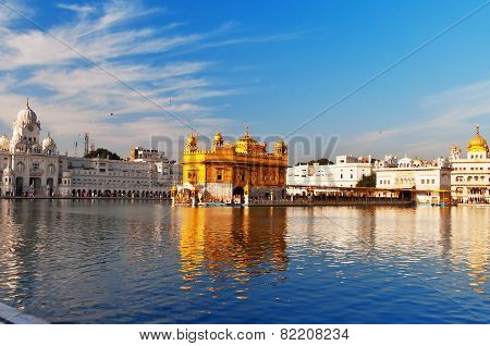 Golden Temple In Amritsar. India