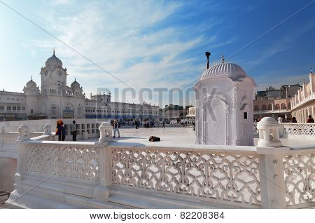 Entrance Of Golden Temple. Amritsar. India