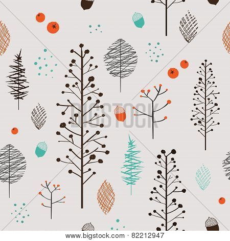 Adorable Plant Seamless Pattern