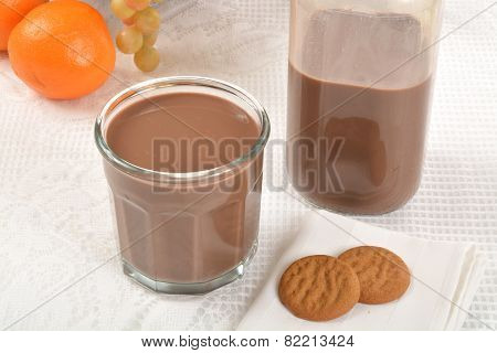 Chocolate Milk And Cookies
