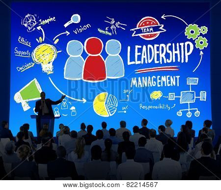Diversity Business People Leadership Management Seminar Leadership Concept