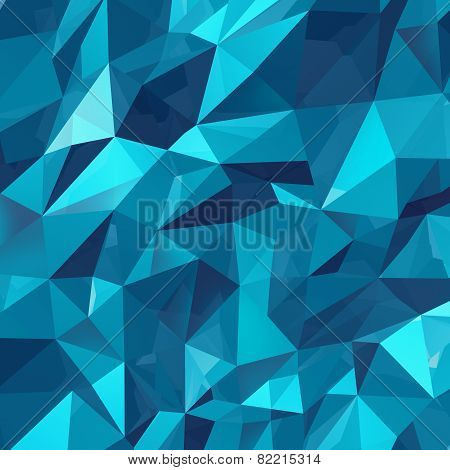 Geometric Triangle Background