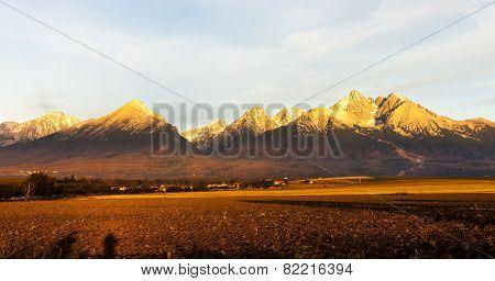 surroundings of Lomnicky Peak, Vysoke Tatry (High Tatras), Slovakia