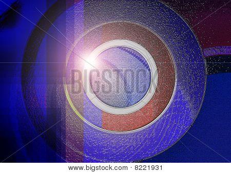 Sparkling circle