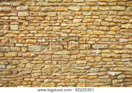 Wall background texture of limestone