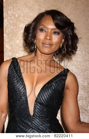 LOS ANGELES - JAN 12:  Angela Bassett at the HBO 2014 Golden Globe Party  at Beverly Hilton Hotel on January 12, 2014 in Beverly Hills, CA