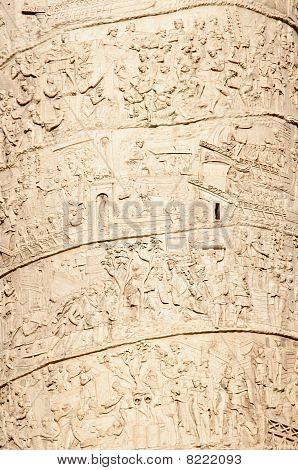 Details Of Trajan's Column