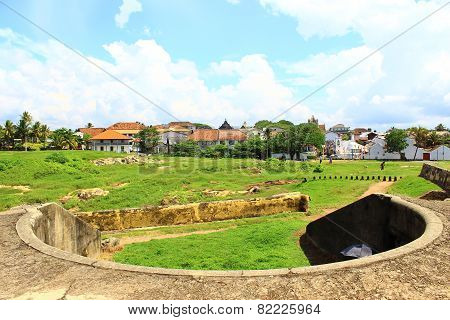 Bastion, Fort Galle, Sri Lanka