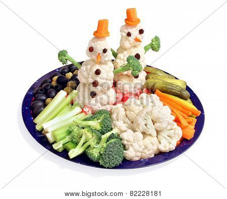 Fun way for kids to eat vegetables