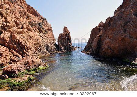 Tossa de mar Bay, Costa Brava, Girona, Katalonien, Spanien