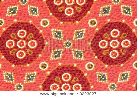 Abstract Texture On Textile