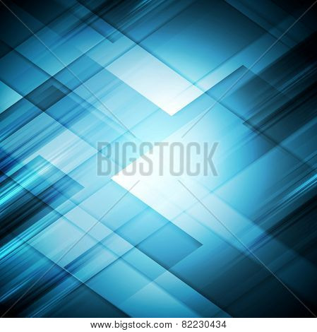 Bright abstract geometric tech background. Vector illustration eps 10
