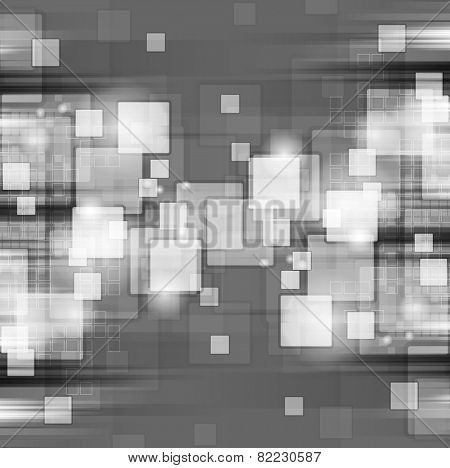 Dark shiny hi-tech background. Vector design