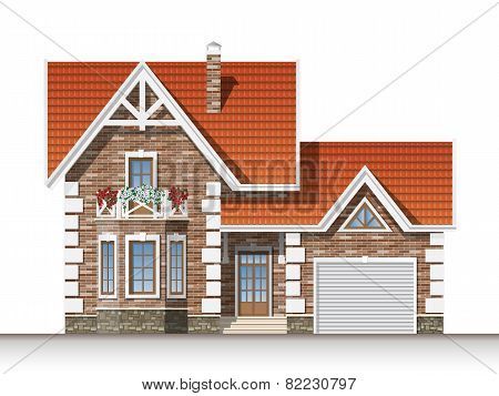 Beautiful Brick House