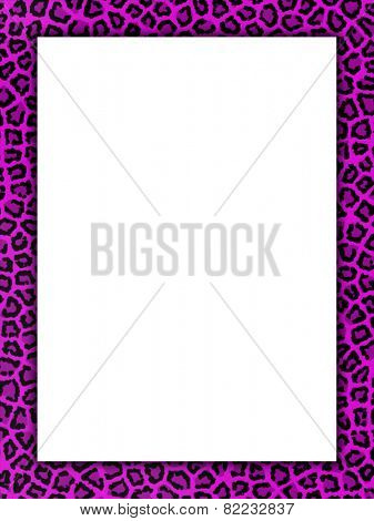 Background with a pink coloured cheetah print