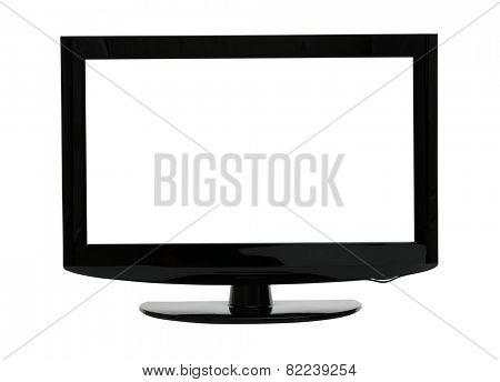 TV  isolated on white background