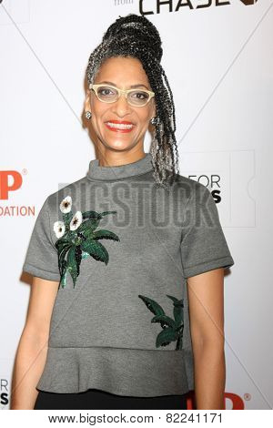 LOS ANGELES - FEB 2:  Carla Hall at the AARP 14th Annual Movies For Grownups Awards Gala at a Beverly Wilshire Hotel on February 2, 2015 in Beverly Hills, CA