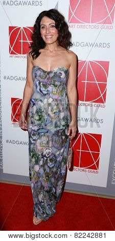 LOS ANGELES - JAN 31:  Lisa Edelstein at the 19th Annual Art Directors Guild Excellence in Production Design Awards at a Beverly Hilton Hotel on January 31, 2015 in Beverly Hills, CA