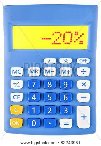 Calculator With -20