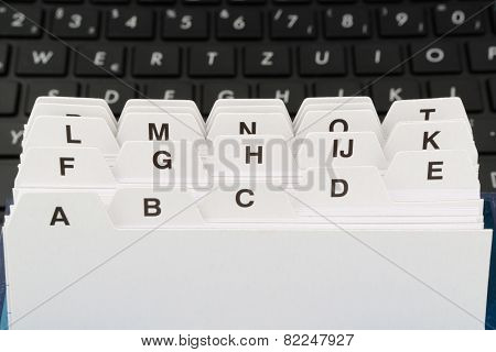 file cards