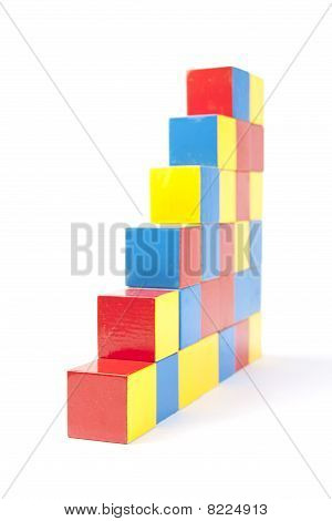 Steps From Play Blocks