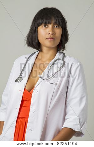 Female Asian Doctor