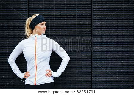 Determined Young Sports Woman