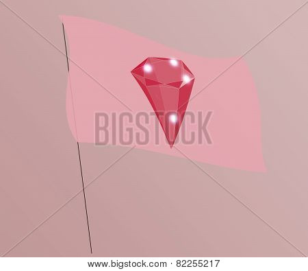 Flags With Gems