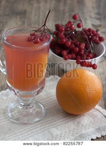 Drink From Mountain Ash With Oranges.