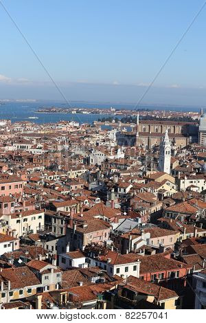 Views Of Venice From The Saint Mark Bell Tower