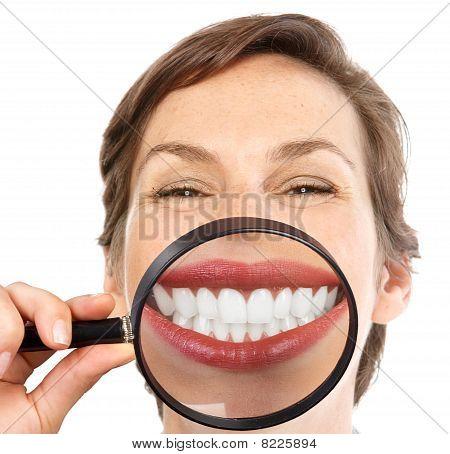 Dentes de mulher