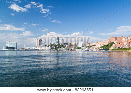 Panorama of Vladivostok Russia